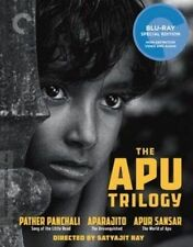 Mastered From 4k Criterion Collection APU Trilogy 3xregion a Blu-rays