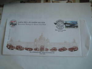2018 India Special Cover on Karnataka Vintage and Classic Car Club - Limited Edn