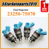 4 x Fuel Injector 23250-75070 for Toyota Hiace Hilux Dyna Regiusace Toyoace 1RZE