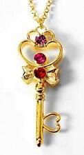 New Sailor Moon space-time Key Necklace Pendant Japan K24