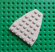 Lego 2625 Wedge Plate 7x6 Bow Plate. Light grey.From sets 10030, 10019, 7155 etc