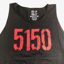 Rich Piana 5% Nutrition Sleeveless Shirt Size 3X Large Black Color