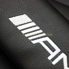 Pair Premium Leather Car Seat Belt Cover Shoulder Pad Cushions for AMG Edition