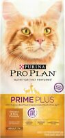 Purina Pro Plan PRIME PLUS Adult 7+ Chicken & Rice Formula Dry Cat Food- 12.5 lb