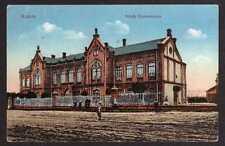 84887 AK Radom Polen K. u. K. Feldpost 1917 Schule  Szkola Rezemieslnicza