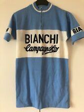 Maglia Ciclismo Cycling Jersey Maillot Trikot Bianchi Campagnolo Eroica Gimondi