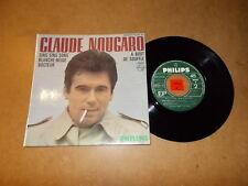 CLAUDE NOUGARO  - EP FRENCH PHILIPS 437050  / LISTEN - FRENCH JAZZ POPCORN