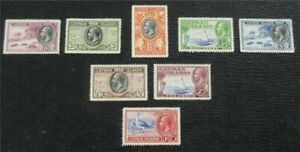 nystamps British Cayman Island Stamp # 85-92 Mint OG H $31   L16x2052