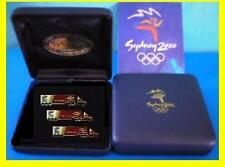 BS 60# * PARALYMPIC 2000 OLYMPIC GAMES * Linfox Truck Boxed Three Pin Set *