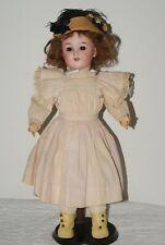Vintage Antique German Bisque Head Schoenau Hoffmeister Doll 5700