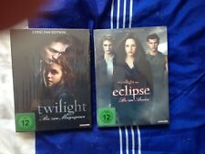 Twilight Biss zum Morgengrauen + Twilight Bis zum Abendrot 4 Disc Fan Edition