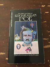 1989 Ten Great Mysteries By Edgar Allan Poe Scholastic Paperback