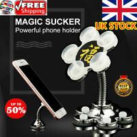 Rotatable Multi-Angle Double-Sided Phone Holder 360 Degree Portable Suction UK
