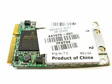 Wireless WiFi Card (441075-001) for HP Pavilion DV6000 (OEM Replacement Part)