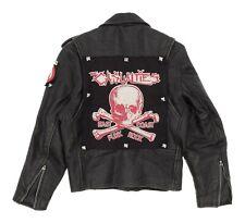 Vintage PUNK ROCK Leather Jacket S Small Mens Studded MOTORCYCLE Biker Jacket