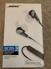 Bose QuietComfort 20i Noise Cancelling In-Ear Headphones