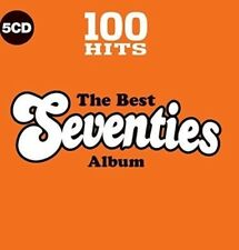 Various - 100 Hits The Best 70s Album BRAND NEW 5CD