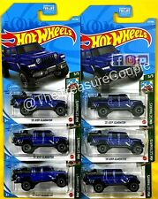 Hot Wheels - 2021 - LOT of 6 - '20 Jeep Gladiator - BLUE - HW Getaways - F82