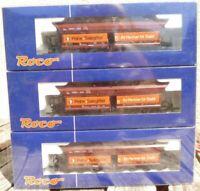 Roco 66005 H0 3er Set Selbstentladewagen Peine & Salzgitter DB Epoche 4/6 AC 3-L