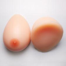 IVITA 2400g Teardrop Shemale Silicone Breast Form Transgender Crossdressing Boob