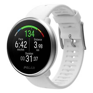 Polar Ignite GPS Watch White/Silver Small