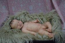 "Full Body Soft Solid boy or girl PREMATUR16""Silicone Baby doll/REBORN SILICONA"
