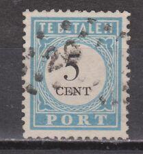 Port nr. 6 cancel DOKKUM (28) gestempeld used NVPH Nederland due portzegel