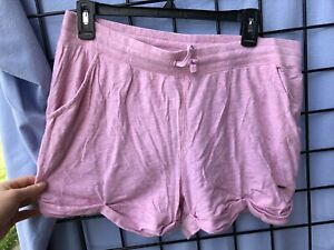 Womens Medium Victorias Secret PINK cotton casual comfortable shorts