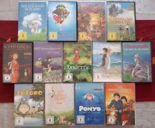 DVD Studio Ghibli Sammlung / Anime / Deutsch / 13 x DVD / Sehr gut bis Neuwertig