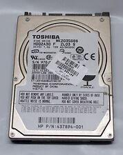 HP TOSHIBA MK2035GSS 200GB  SATA LAPTOP HARD DRIVE - 441424-001