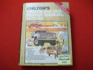 VINTAGE CHILTON'S DOMESTIC & IMPORT TRUCK, RVs & VAN REPAIR MANUAL 4WD 1975-1982