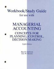Managerial Accounting by Garrison (1997, Hardcover, Student Edition of...