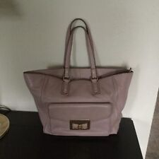 MARC BY MARC JACOBS Women leather tote bage dusty rose color