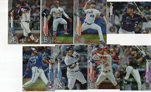 2020 Topps Baseball Complete Set RETAIL 45 Card FOIL BOARD LOT w GUERRERO /264