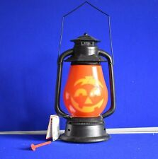 NEUF Musical LED Lanterne Halloween Intérieur À Piles Potiron Jack O lanterne