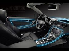 Ice Blue 5MTR Interior Refit Atmosphere Car Styling EL light TATA NANO  GENX