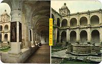 Méjico TARJETA POSTAL- Vistas of the fabulous Sto. Domingo Convento de