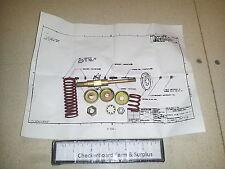 NOS Brake Shoe Parts Kit 11677781 2530001379275 M818 M931 5-Ton 6X6