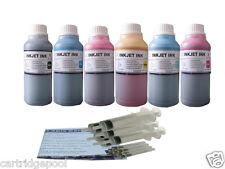 Refill ink kit for HP 02 PhotoSmart C6288 C6280 C6250 6240 C7150 D7150 6X250ML/S