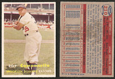 1957 Topps Roy Campanella #210 Dodgers