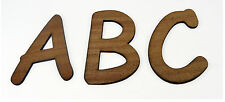 Mahogany Veneer XXL Wooden Alphabet Letters / Nursery Decor / Alphabet Wall