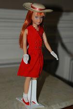 VINTAGE SKPPER OUTFIT RED SENSATION DRESS HAT GLOVES SOCKS AND JAPAN SHOES