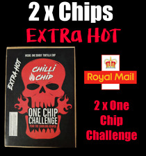 2 x ONE CHIP CHALLENGE .... WORLDS HOTTEST CHILLI CHIP 🔥🔥🔥 Double Pack