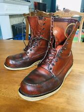 50s Red Wing 877 Boots Vintage Irish Setter Sport Boot UK 10 Used