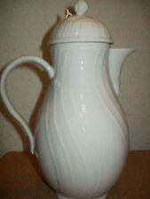 Caraffe e brocche da cucina in porcellana bianca