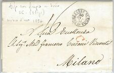 59804 -  ITALY - POSTAL HISTORY:  COVER  1871  -  BUTTERFLIES