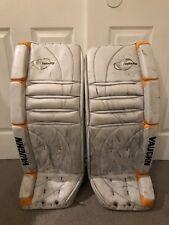 "Vaughn Velocity V2 7000 Goalie Leg Pads 32"" inch + 2"" Pro Stock Hockey NHL Pads!"