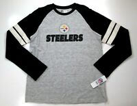 $45 Pittsburgh Steelers Men's End of the Line VII Retro Long Sleeve Shirt jersey