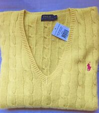 Ralph Lauren Wool V Neck Jumpers & Cardigans for Women