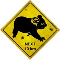 Sticker decal vinyl car australia road sign koala plate